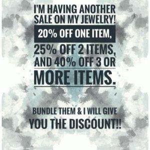 Jewelry - Bundle the jewelry and save!!!
